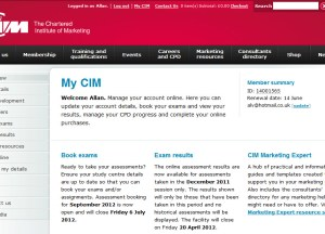 Study while Travelling with Distance Learning - CIM Student Account