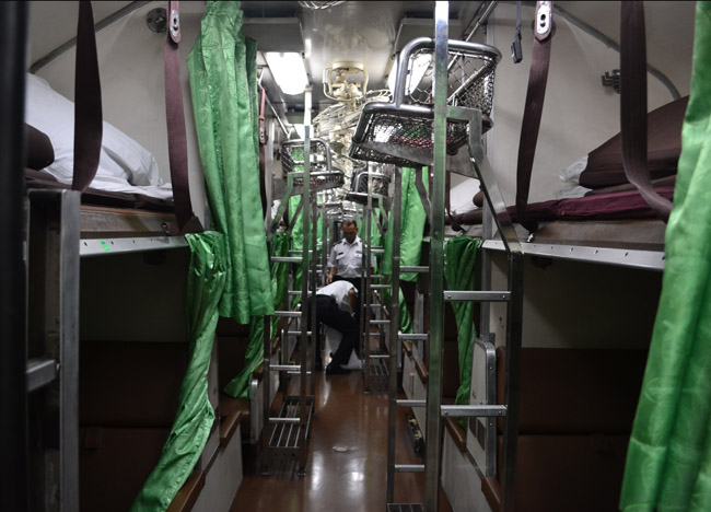 Second Class Sleeper, Bangkok to Vientiane by Train, Laos, SE Asia