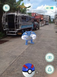 Poliwrath Fight, Pokemon Go in Bangkok and Thailand