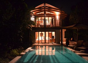 villa-at-night, Serene Escapes in Phuket Thailand