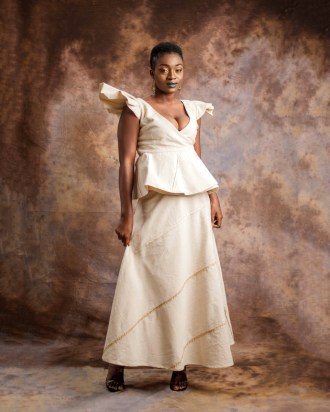 Butterfly top and wrap skirt-by-Mable-Agbodan-1