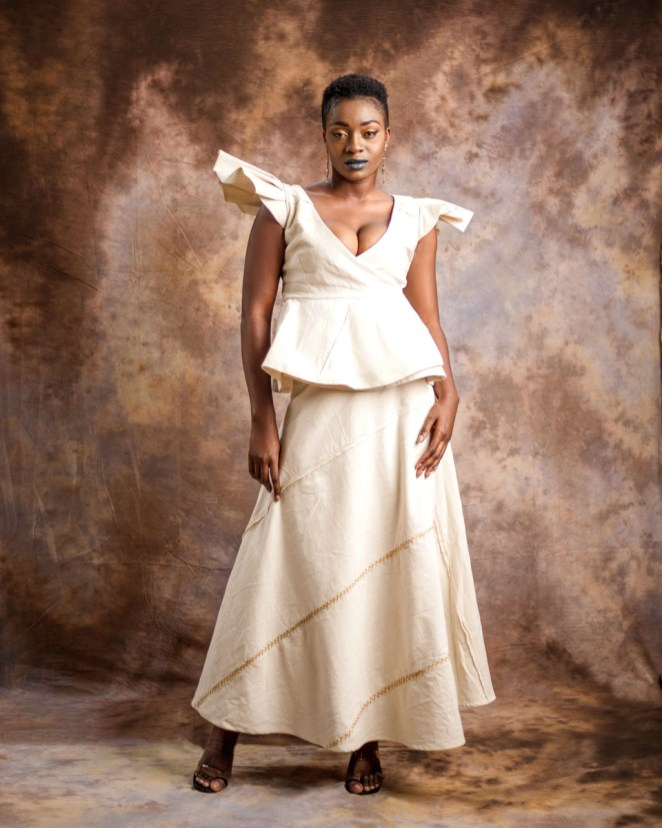 Butterfly top and wrap skirt-by-Mable-Agbodan-4