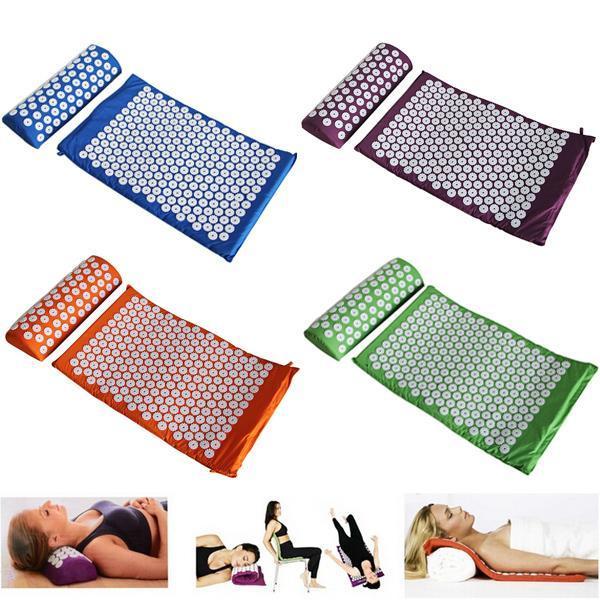 tapis yoga massage de corps et pieds