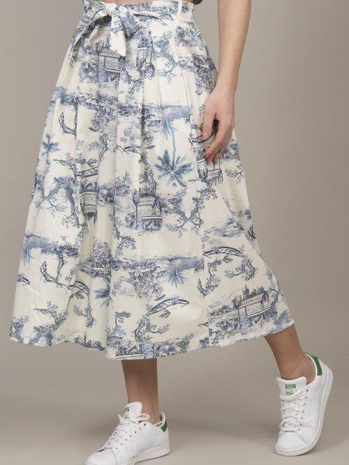 חצאית ריקי כחולה