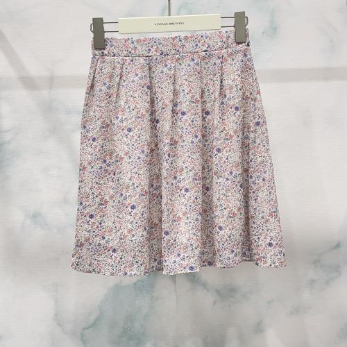 חצאית מיני קרי ורודה