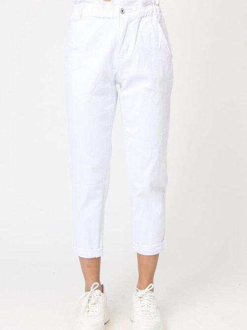 LIRAZ ג'ינס לבן