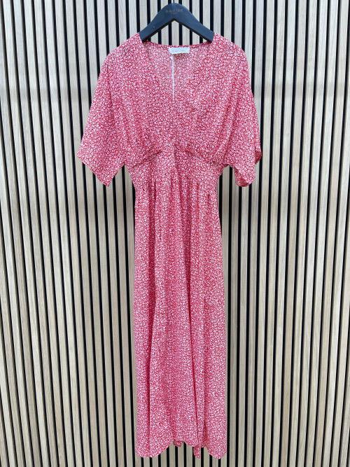 שמלה אריקה אדומה