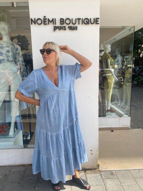 שמלה פשטן כחול