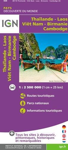 THAILANDE VIETNAM LAOS