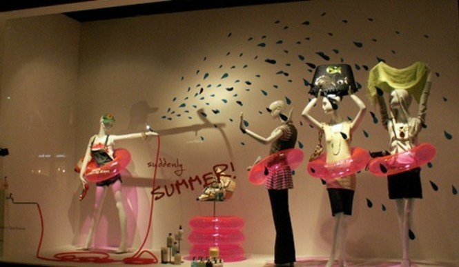 Summer Window Displays