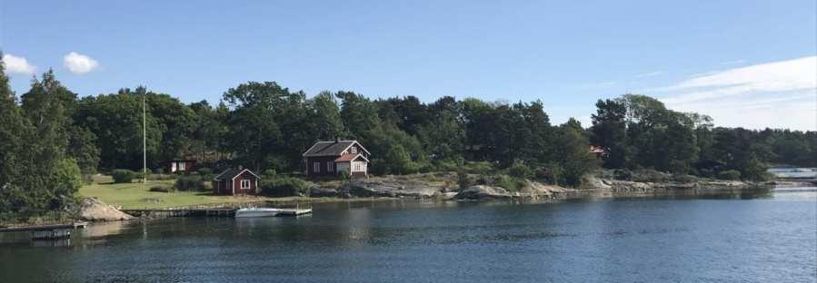 Schäreninsel mit Haus