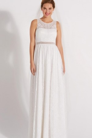 robe de mariée en crochet style bohème