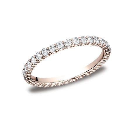 552623RG P1 1 - DIAMONDS ROSE GOLD 2MM DIAMOND BAND