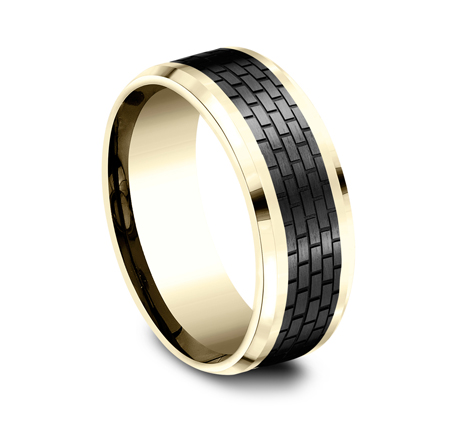 CF948331BKTY P2 - TOW PART YELLOW GOLD DESIGN BAND CF948331BKTY