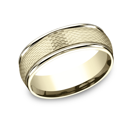 RECF87547Y P1 - 7.5 MM  YELLOW GOLD BAND RECF87547Y