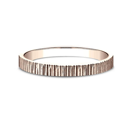 2MM ROSE GOLD STACKABLE BAND 492772R 2 - 2MM ROSE GOLD STACKABLE BAND 492772R