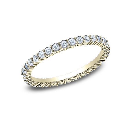 2MM SHARED PRONG ETERNITY DIAMOND BAND 552623Y - 2MM SHARED PRONG ETERNITY DIAMOND BAND 552623Y