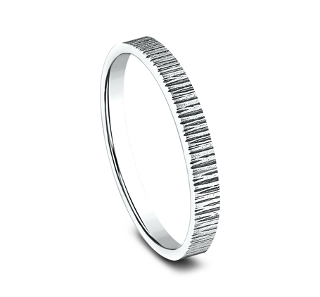 2MM WHITE GOLD STACKABLE BAND 492772W 1 - 2MM WHITE GOLD STACKABLE BAND 492772W