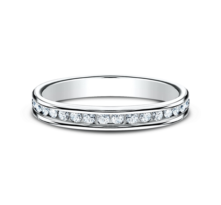 3MM ETERNITY DIAMOND BAND 513550W 2 - 3MM ETERNITY DIAMOND BAND 513550W
