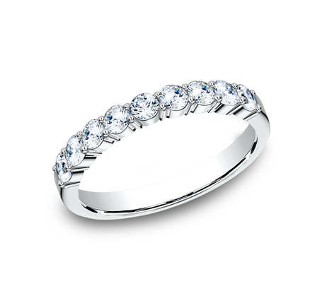 3MM PLATINUM SHARED PRONG DIAMOND BAND 5535922PT - 3MM PLATINUM SHARED PRONG DIAMOND BAND 5535922PT