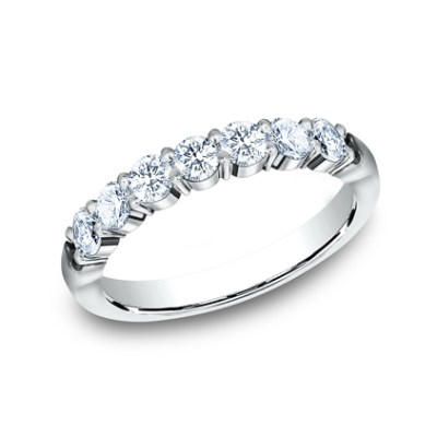 3MM WHITE GOLD SHARED PRONG DIAMOND BAND 5535015W - 3MM WHITE GOLD SHARED PRONG DIAMOND BAND 5535015W