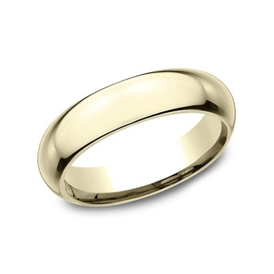 5MM YELLOW GOLD BAND HDCF150Y - 5MM YELLOW GOLD BAND HDCF150Y