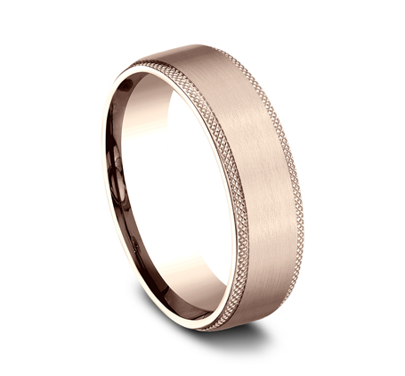 6.5MM ROSE GOLD COMFORT FIT BAND 1 - 6.5MM ROSE GOLD COMFORT-FIT BAND CF4965749R