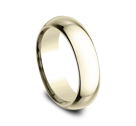 6MM YELLOW GOLD BAND HDCF160Y 1 - 6MM YELLOW GOLD BAND HDCF160Y