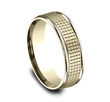 7MM YELLOW GOLD BAND RECF67471Y 1 - 7MM YELLOW GOLD BAND RECF67471Y