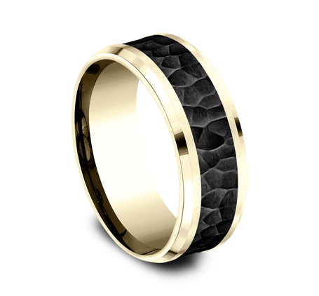 8MM YELLOW GOLD COMFORT FIT BAND CF448753BKTY 1 - 8MM YELLOW GOLD COMFORT-FIT BAND CF448753BKTY