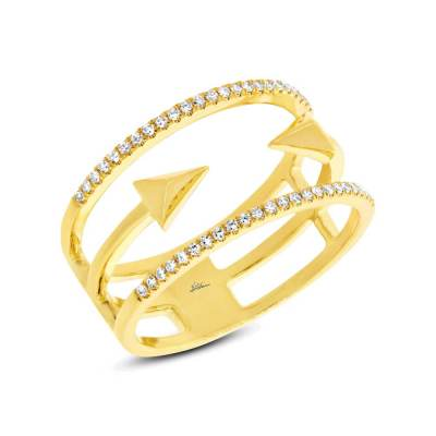 0.15ct 14k Yellow Gold Diamond Ladys Ring SC55002506 - 0.15ct 14k Yellow Gold Diamond Lady's Ring SC55002506