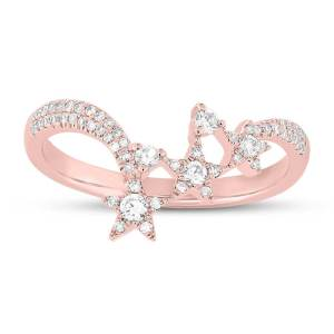 0.26ct 14k Rose Gold Diamond Star Ring SC55004958 1 300x300 - Dallas gold and silver Dallas TX- surprise your future wife