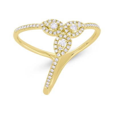0.26ct 14k Yellow Gold Diamond Ladys Ring SC55005720 - 0.26ct 14k Yellow Gold Diamond Lady's Ring SC55005720