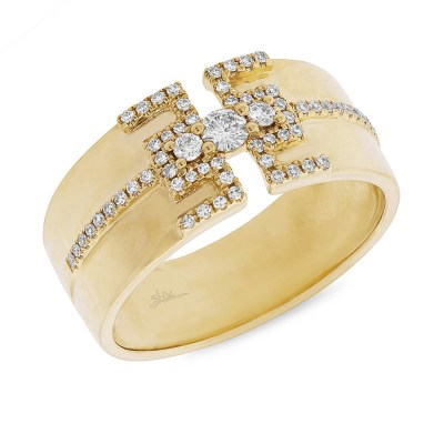 0.27ct 14k Yellow Gold Diamond Ladys Ring SC55004513 - 0.27ct 14k Yellow Gold Diamond Lady's Ring SC55004513