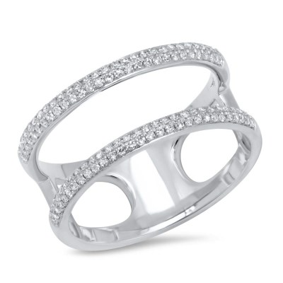 0.30ct 14k White Gold Diamond Ladys Ring SC55002845V2 - 0.30ct 14k White Gold Diamond Lady's Ring SC55002845V2