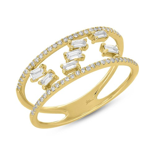 0.36ct 14k Yellow Gold Diamond Baguette Ladys Ring SC36213835 - 0.36ct 14k Yellow Gold Diamond Baguette Lady's Ring SC36213835