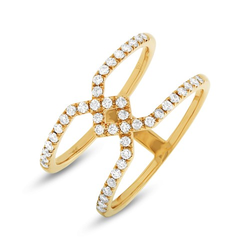 0.40ct 14k Yellow Gold Diamond Ladys Ring SC22003727 - 0.40ct 14k Yellow Gold Diamond Lady's Ring SC22003727
