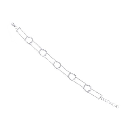 0.43ct 14k White Gold Diamond Bracelet SC55002561 - 0.43ct 14k White Gold Diamond Bracelet SC55002561