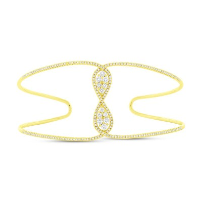 0.81ct 14k Yellow Gold Diamond Bangle SC55004345ZS - 0.81ct 14k Yellow Gold Diamond Bangle SC55004345ZS