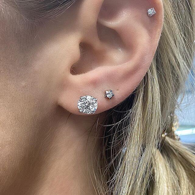 Diamond Stud Earrings | Stud Earrings are a Must Try!