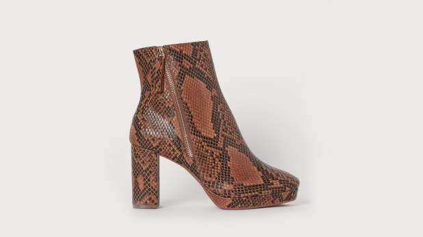 ankle boots Zara HM