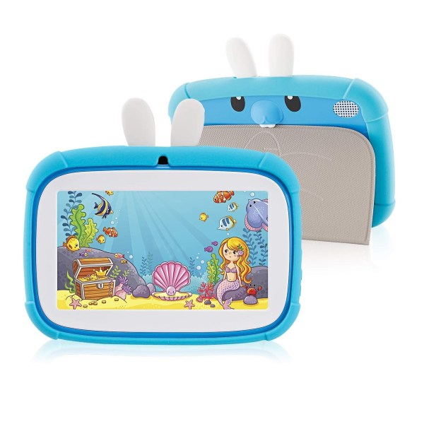 Rabbit Kids Tablet 7 inch www.bovic.co.ke blue 2