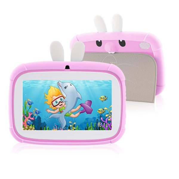 Rabbit Kids Tablet 7 inch www.bovic.co.ke pink 2