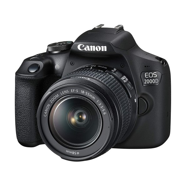 Canon EOS 2000D DSLR Camera with 18-55mm Lens