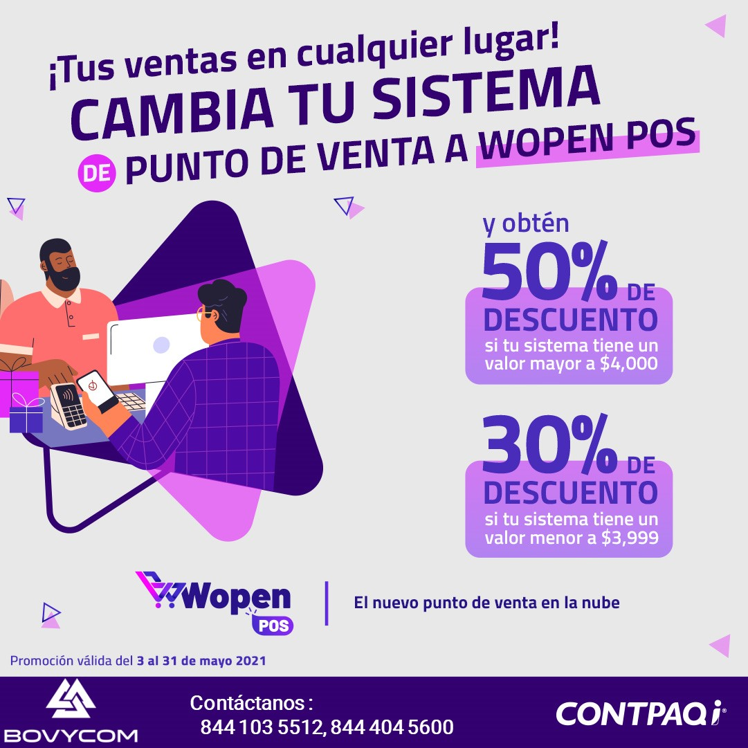 Promo Wopen 50%