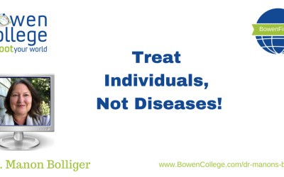 Treat Individuals, Not Diseases!
