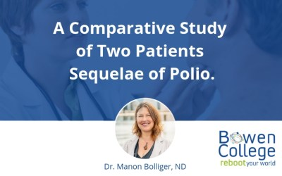 A Comparative Study of Two Patients Sequelae of Polio.