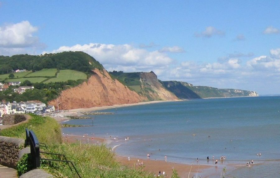 Salcombe Hill and Sidmouth