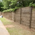 How To Build A Wood Fence On A Chainlink Fence Bower Power