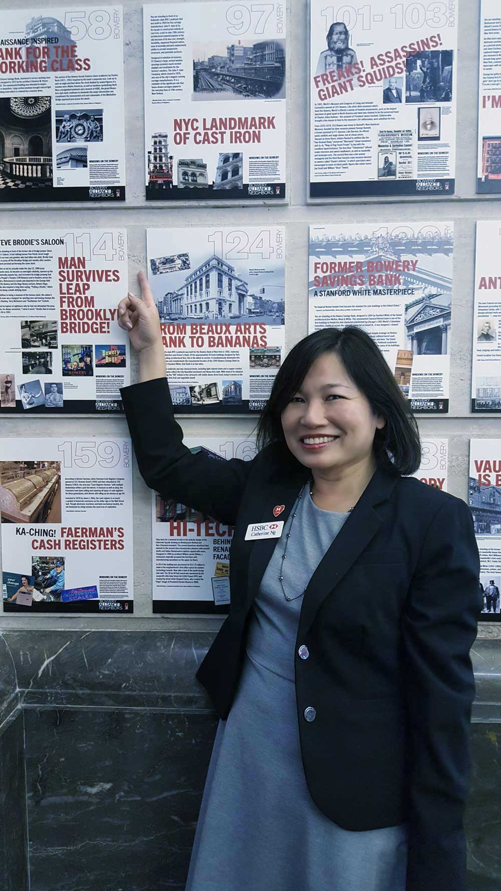 Bank Branch Manager Catherine NG